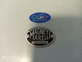 copy of TARGHETTA ROSSA MAGNETI MARELLI CLACSON MOTO GUZZI S V W GTS GTV GTW SPORT 15 P PL EGRETTA